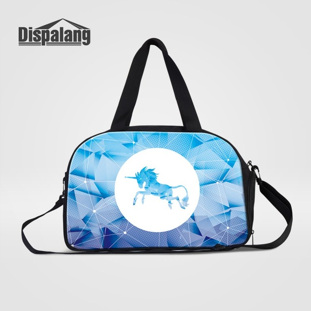 531ee0e2f21f Dispalang Travel Bags For Trips Unicorn Luggage Travel Handbag Weekender  Duffle Bag With Independent Shoe Pocket Travel Tote Bag
