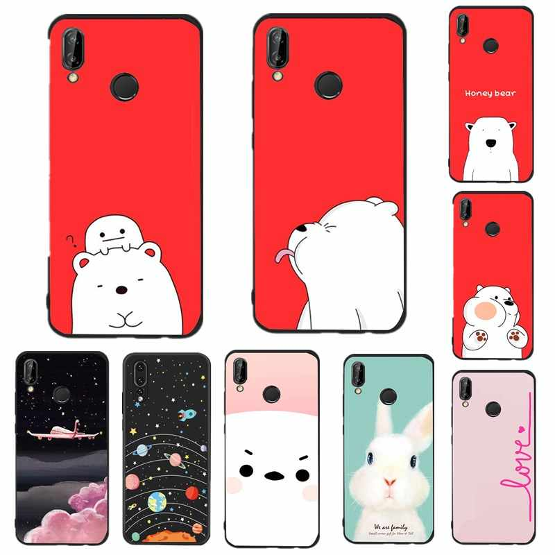 Silicone Case For huawei p 20 10 9 lite Case Cover For huawei p9 lite mini Mate 10 lite Capa hoesjes for huawei p8 lite 2017