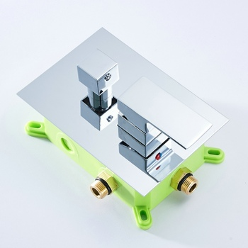 BECOLA Embedded box shower control switch valve bathroom shower concealed shower faucet valve wall mounted B-9915