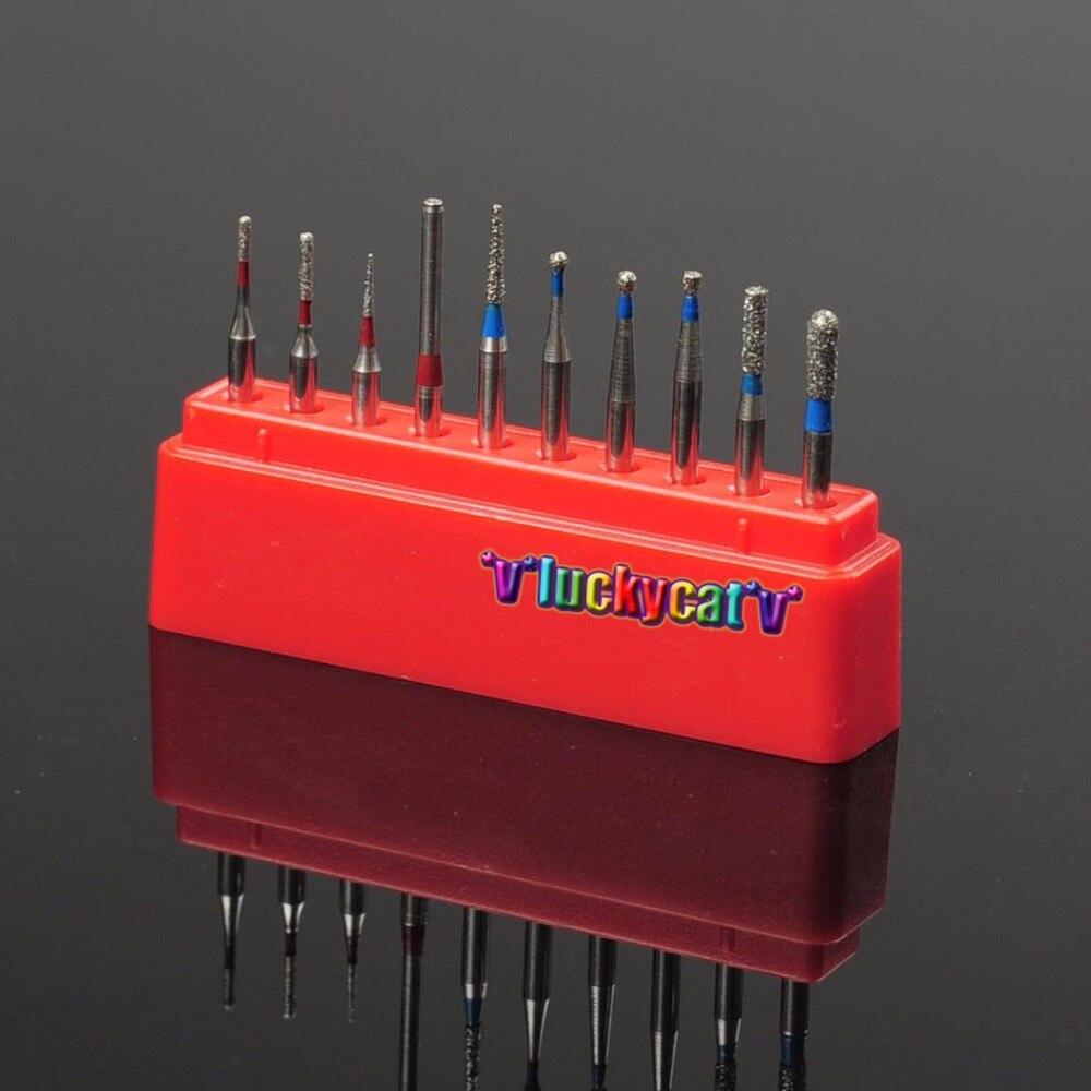 ღ Ƹ Ӝ Ʒ ღ30pcs dental high speed 1 6mm diamond fg burs for