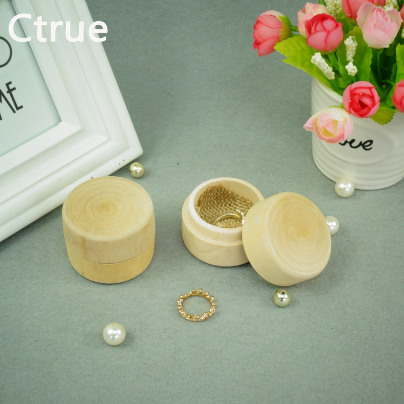 Free shipping 1pcs Rustic Wedding Ring Box wooden Engagement Boxes Gift rustic wedding decoration vintage decor