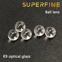 Superfine diameter 1.5mm K9 optical glass ball lens Spherical Lenses