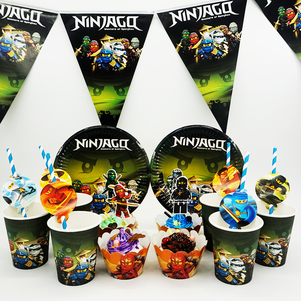 Popular ninjago decorations buy cheap ninjago decorations for Lego ninjago zimmer deko