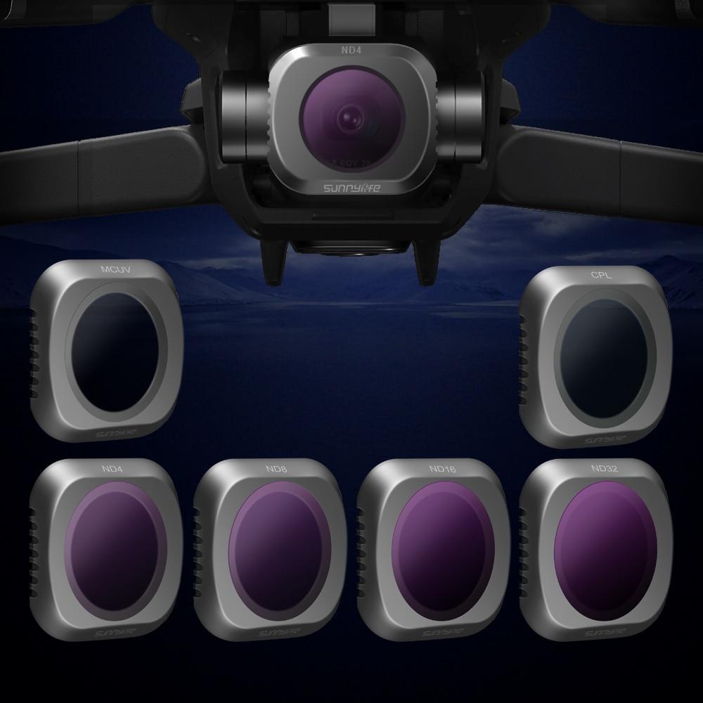 En Stock Kit de filtre d'objectif MCUV CPL ND4 ND8 ND16 ND32 pour accessoires de filtre de Drone de caméra DJI MAVIC 2 PRO