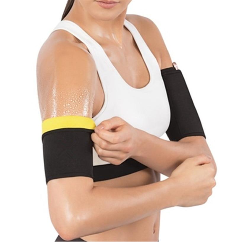 2019 CHENYE Black Sleeve Man Woman Slimming Arm Warmers Elastic Fat Burner Arms Slimmer Sauna Sweat Unisex Arms Sleeves Fashion