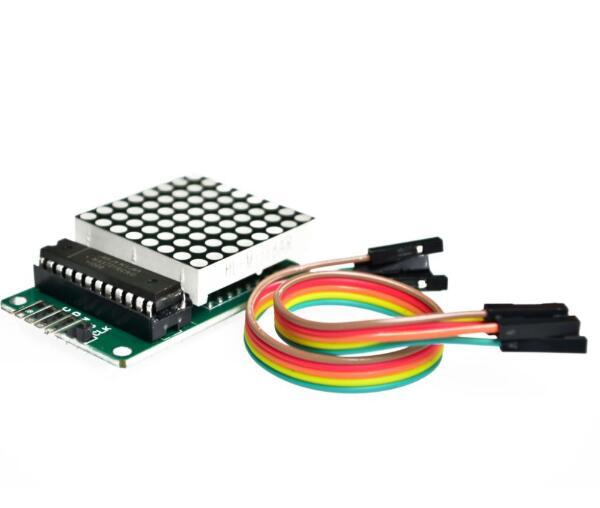 10PCS MAX7219 Dot Led Matrix Module MCU LED Display Control Module Kit For Arduino