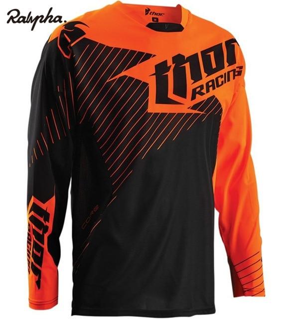 2019 Autumn/Summer New Moto Mountain Bike Motocross Jersey BMX DH Long MTB Bicycle T-Shirt Clothes Sportswear Downhill Jersey