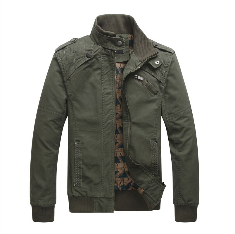 new SPRING hot mens jackets and coats, cotton outwear men's coats casual fit style designer ...