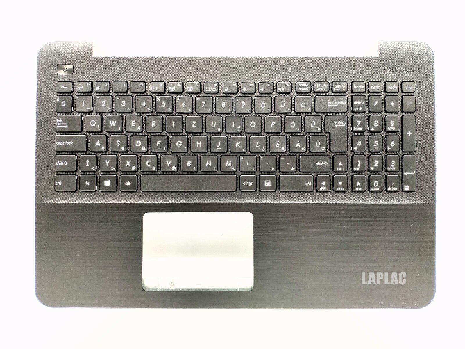 New HU HG Magyar Hungarian Billentyuzet Keyboard with black palmrest for ASUS X554LA X554LD X554LI X554LJ