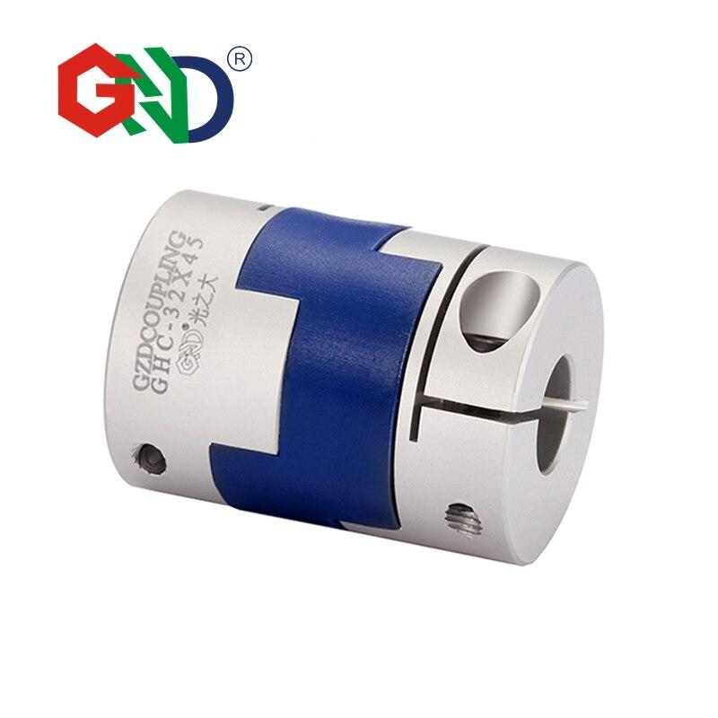 Free shipping Aluminum Alloy shaft 5mm 8mm coupler Diameter 40 Length 50 Flexible Oldham Clamp Transmission Shaft Couplings power transmission parts shaft couplings gfz d55xl78