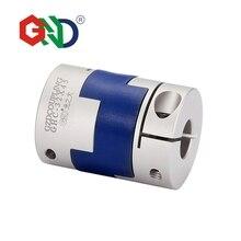 Free shipping Aluminum Alloy shaft 5mm 8mm coupler Diameter 40 Length 50 Flexible Oldham Clamp Transmission Shaft Couplings