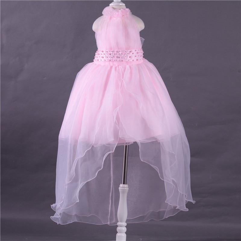Vistoso Pétalos De Color Rosa Vestidos De Dama De Honor Ideas ...