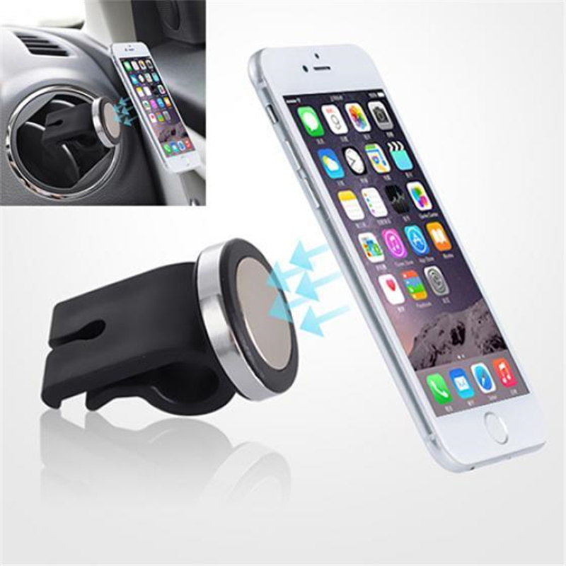 Mobile Phone Auto Air Vent Powerful Magnet Holder Universal Car Automobiles Air Outlet Support Vehicle Magnetic Bracket 4