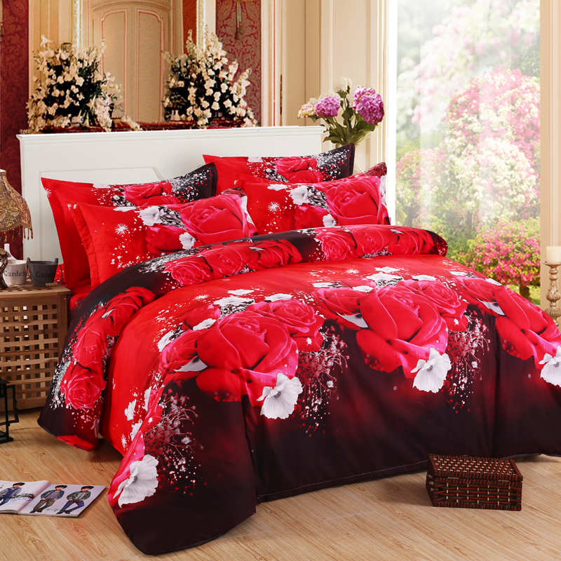 ⊰3D juegos de cama mariposa Marilyn Monroe leopardo Rosa ropa de