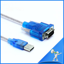 HL-340 USB to RS232 COM Port Serial PDA 9 Pin DB9 Cable Adapter Support Windows7-64 Convertor Connector цена и фото