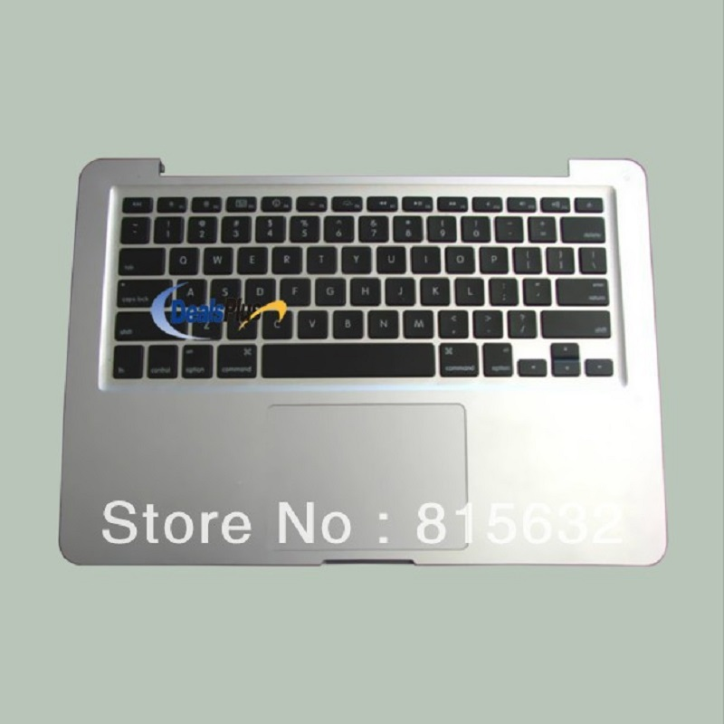 3pcs lot New Top Case FOR Macbook pro A1278 Palmrest with Touchpad Backlihgt US Keyboard 2011