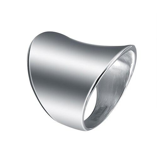 Lasoonary hochzeit bands mode ring aus stahl in glänzende farbe sowohl für mann und frauen Schönheit und schmuck