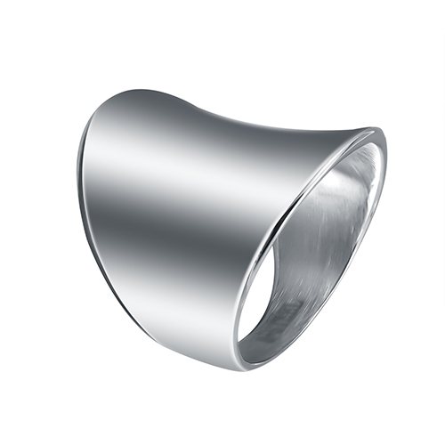 Lasoonary wedding bands fashion ring made of steel in shining color for both man and women Beauty and jewelry