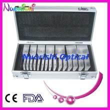 Optometría óptica oftalmológica LS22 K9, juego de barras de prisma sueltas, caja de aluminio embalada, envío gratis