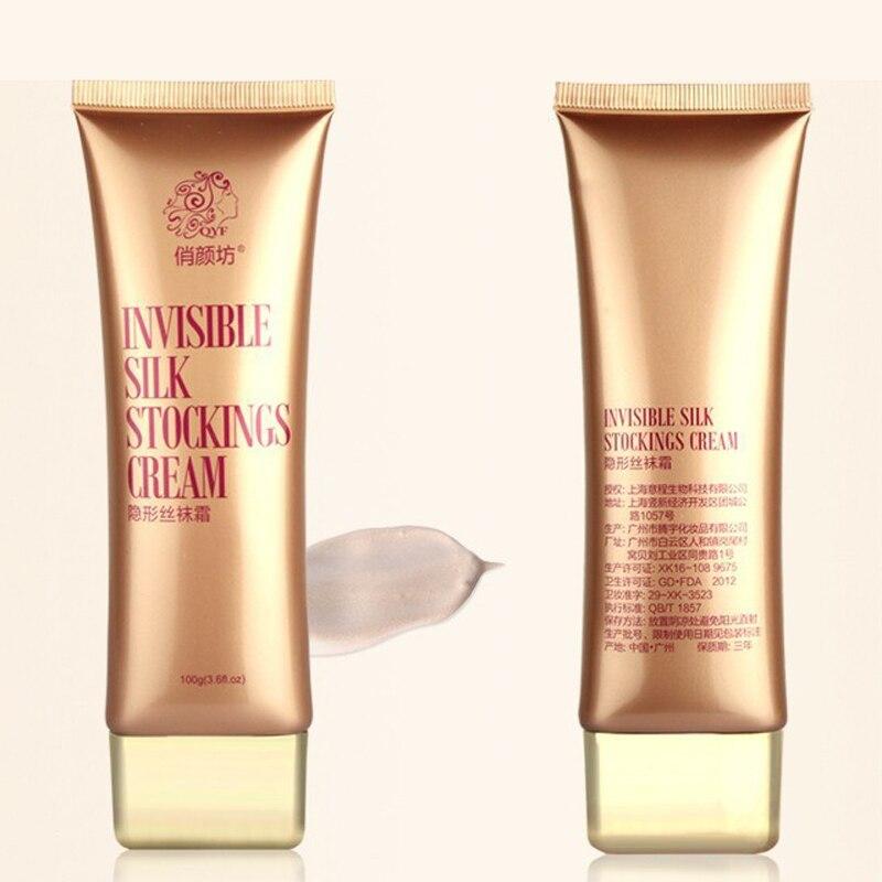 100g Body Concealer For Leg Make Up Body Foundation Cream Invisible Stockings Cream Tights Silk Sun Block Moisturizing Whitening