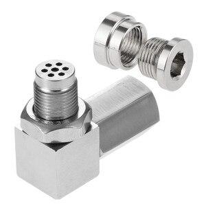 Image 3 - Yetaha CEL Eliminator Check Engine Licht Mini Katalysator Bung Und Stecker Für Die Meisten M18 X 1,5 Gewinde Sensor Spacer