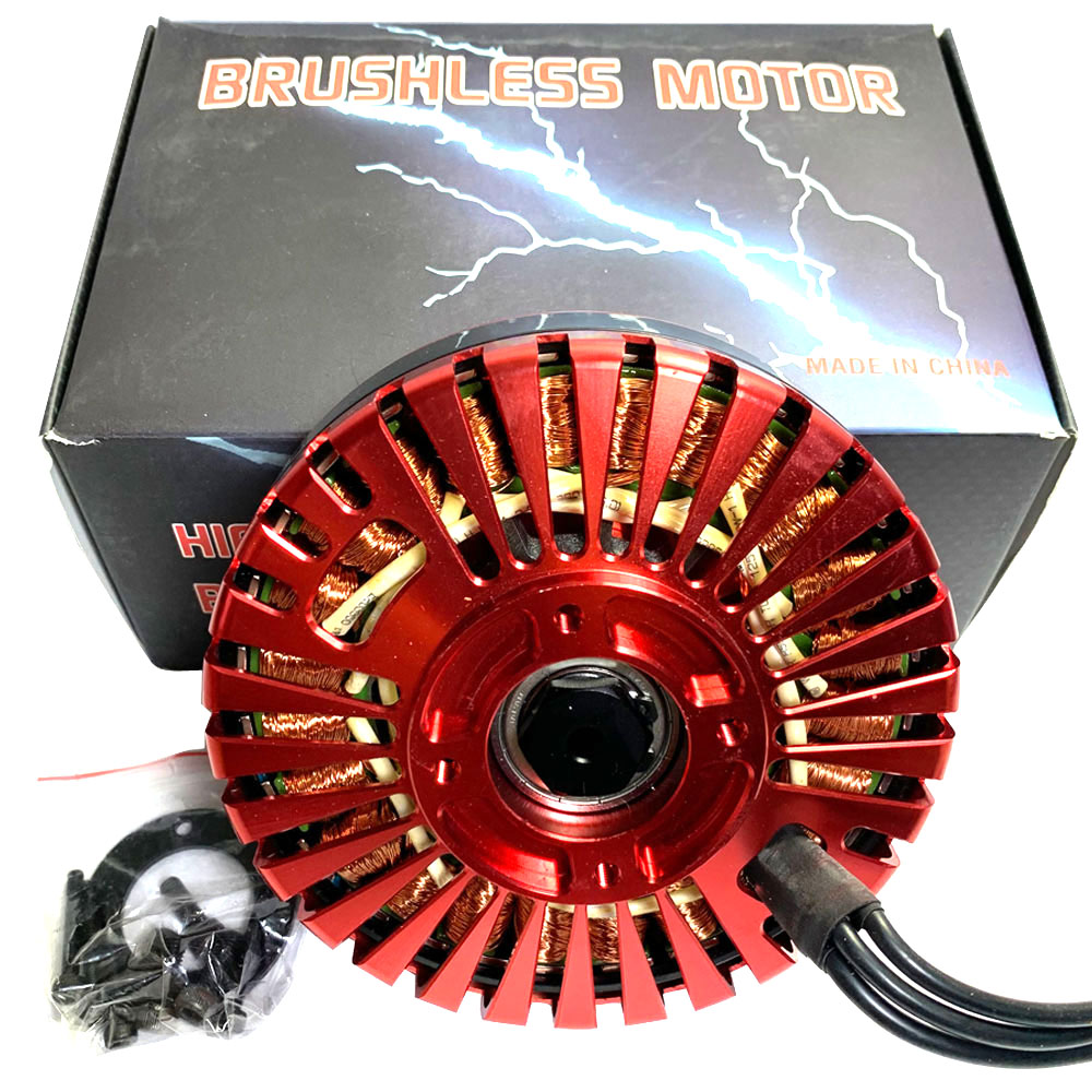 Red T12 Swiss brushless motor agricultural drone motor 8318 Suitable for 3080 Propeller EP-80A ESC motor Large torqueRed T12 Swiss brushless motor agricultural drone motor 8318 Suitable for 3080 Propeller EP-80A ESC motor Large torque