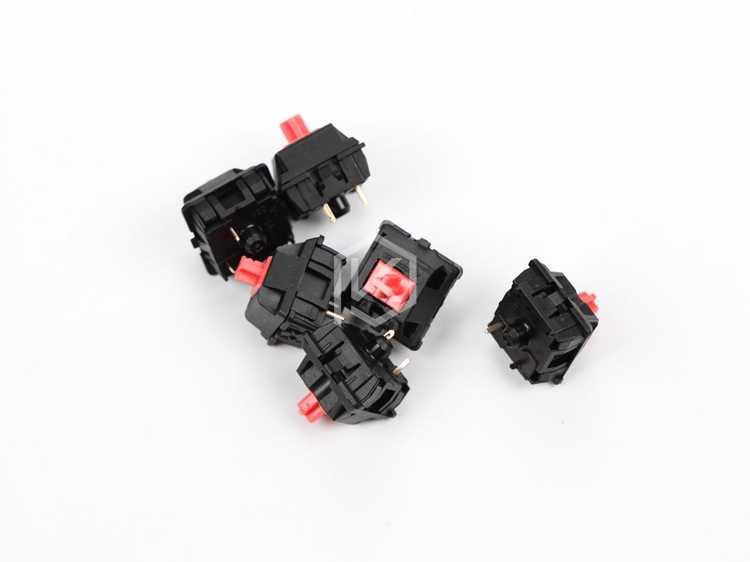 Kirsche stille roten schalter 3pin schalter für benutzerdefinierte mechnical tastatur xd64 xd60 eepw84 gh60 tada68 rs96 87 104 108