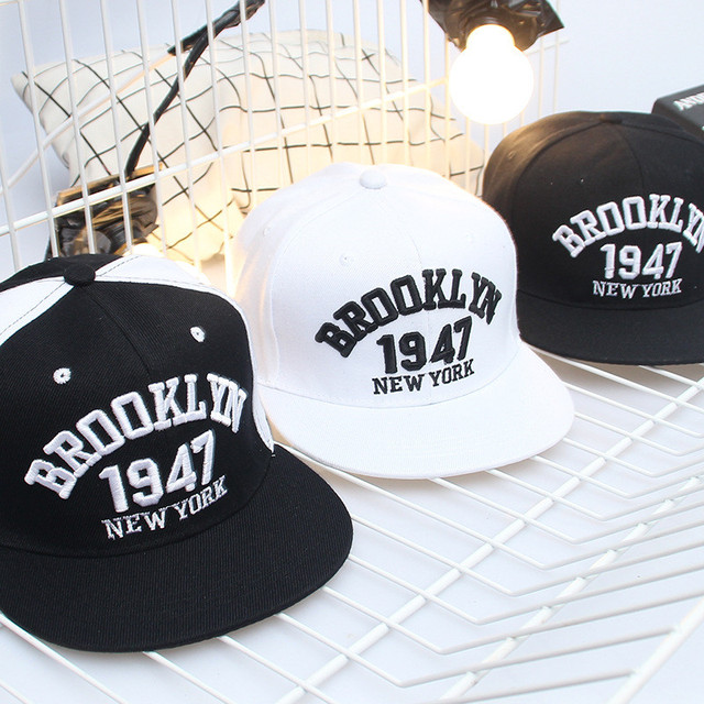 New High quality Brooklyn Cap Baseball Hat Brooklyn Style 1947 Bone New  York Hat Adjustable 55-60cm Cotton Gorras Snapback Cap 68af92ca7c6