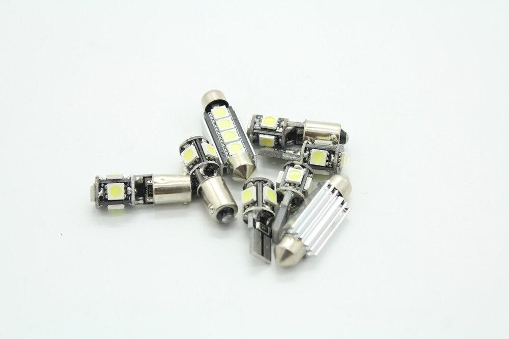 Auto Led Lampen : Lahl stücke weiß auto led lampen interior package kit für