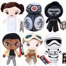 20cm Star Wars: Den sista Jedi Rey Finn Princess Leia Fyllda & Djur Plush Doll Toys För Baby Kids Gifts