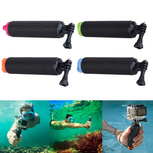 Image 4 - Waterproof Floating Hand Grip Underwater Selfie Stick for Gopro Hero Session Pro Float Handle Diving Action Camera