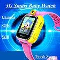 Дети Smartwatch 3 Г GPRS Smart Watch GPS Локатор Трекер Анти-Потерянный Smartwatch Детские Часы С Wi-Fi Камера Для IOS Android