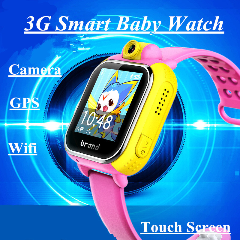 Kids Smartwatch 3G GPRS Smart Watch GPS Locator Tracker Anti-Lost Smartwatch Baby Watch With Camera Wifi For IOS Android детские gps часы smart baby watch gw200s желтые