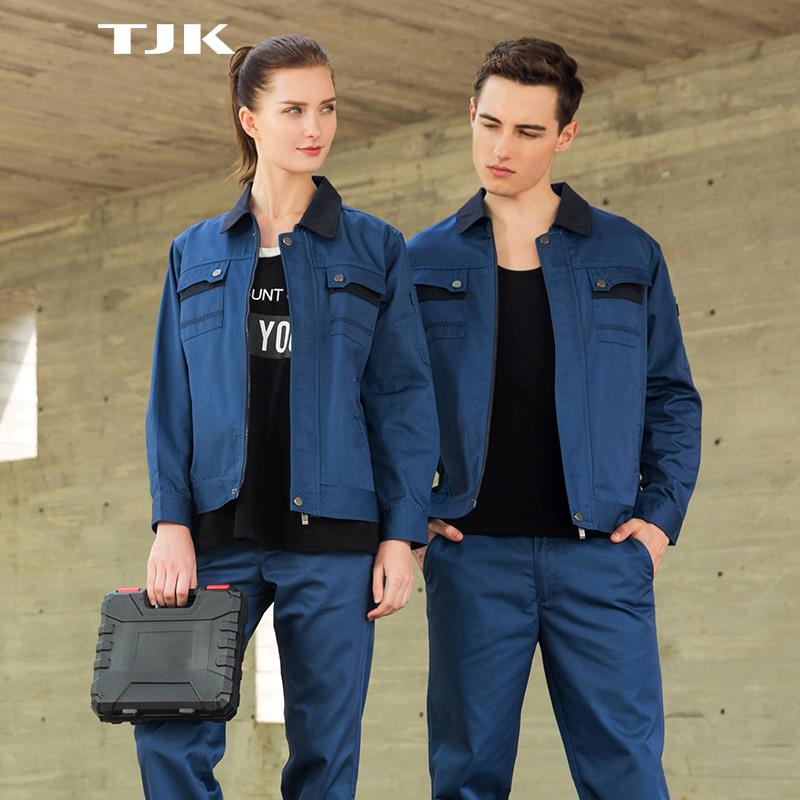 Fashion Workwear Autumn Winter long sleeve summer short sleeve factory uniform Engineer protective cloth builder Labour cloth