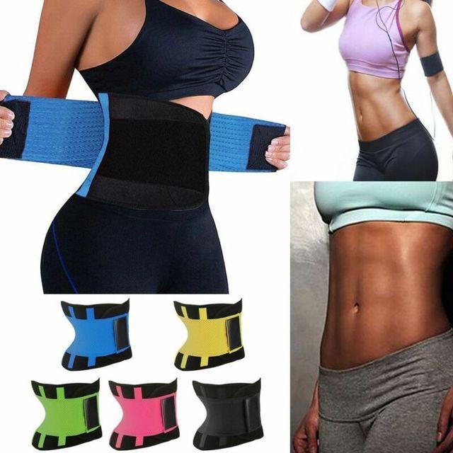 Men Women Sport Shapewear Sweat Belt Waist Cincher Trainer Trimmer Gym Body Underwear Body Building Shaper 1