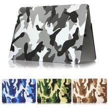 NEW Camouflage Print Laptop Case for MacBook Retina Air Pro 11 13 12 15 Inch Replace Cover A1990 A1989 A1425 A1465 A1370 Funda аксессуар topon top 100303 для apple macbook air 11 inch a1370 a1465 series black
