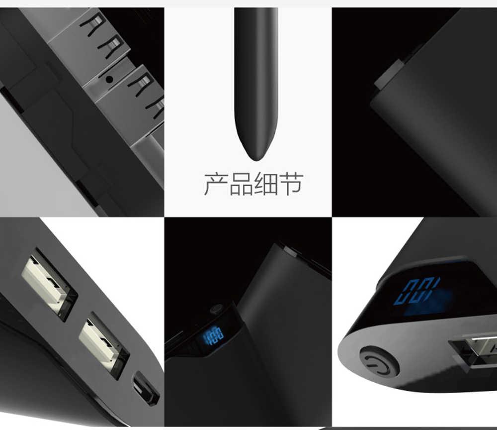 Оригинальный Romoss power Bank 10000 мАч NE10 светодиодный цифровой дисплей литий-полимерный аккумулятор 5 в 2.1A двойной USB выход для iPhoneX iosx samsung