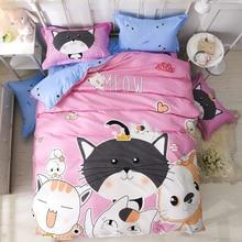 Winter Modern style Bedding Set Polyester Duvet Cover set flat Sheet Pillowcase Twin Full Queen size King be 4Pcs /3 Pcs