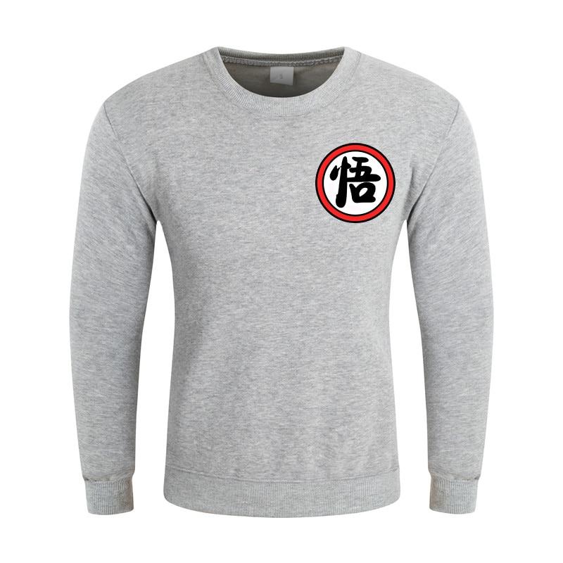 2016 fashion Unisex long-sleeve <font><b>3</b></font> d <font><b>fleece</b></font> pullover Very good quality anime dragon <font><b>ball</b></font> z boy <font><b>white</b></font> black hoodies