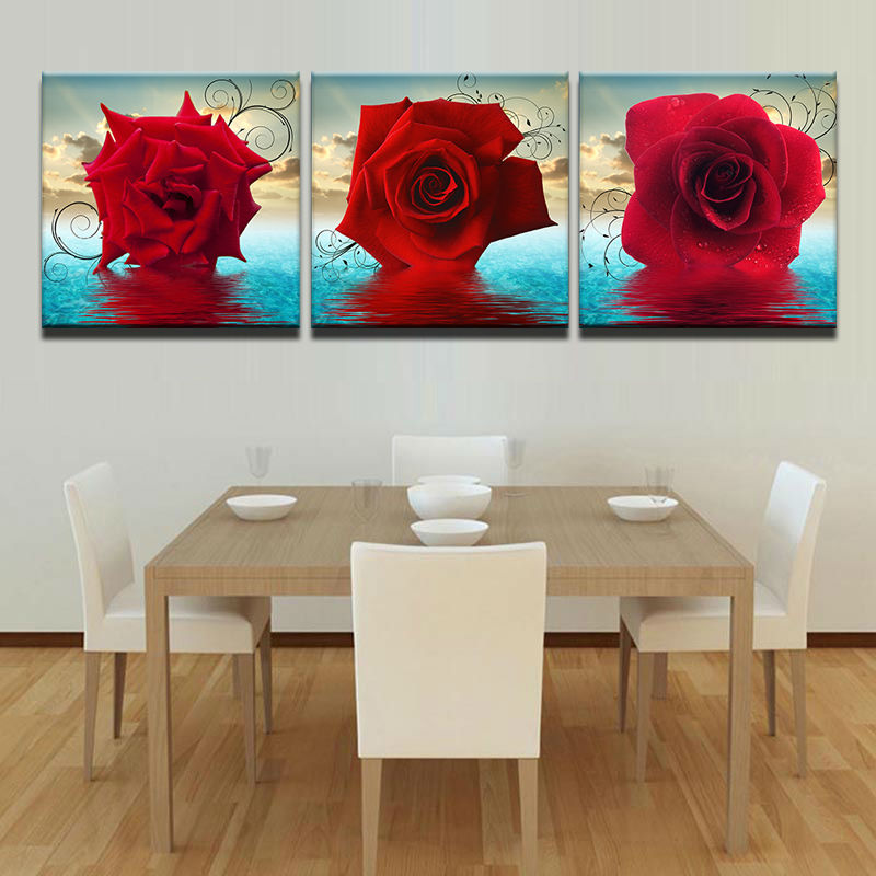 Wall art printed canvas painting for home decorative for Decorative pieces for living room