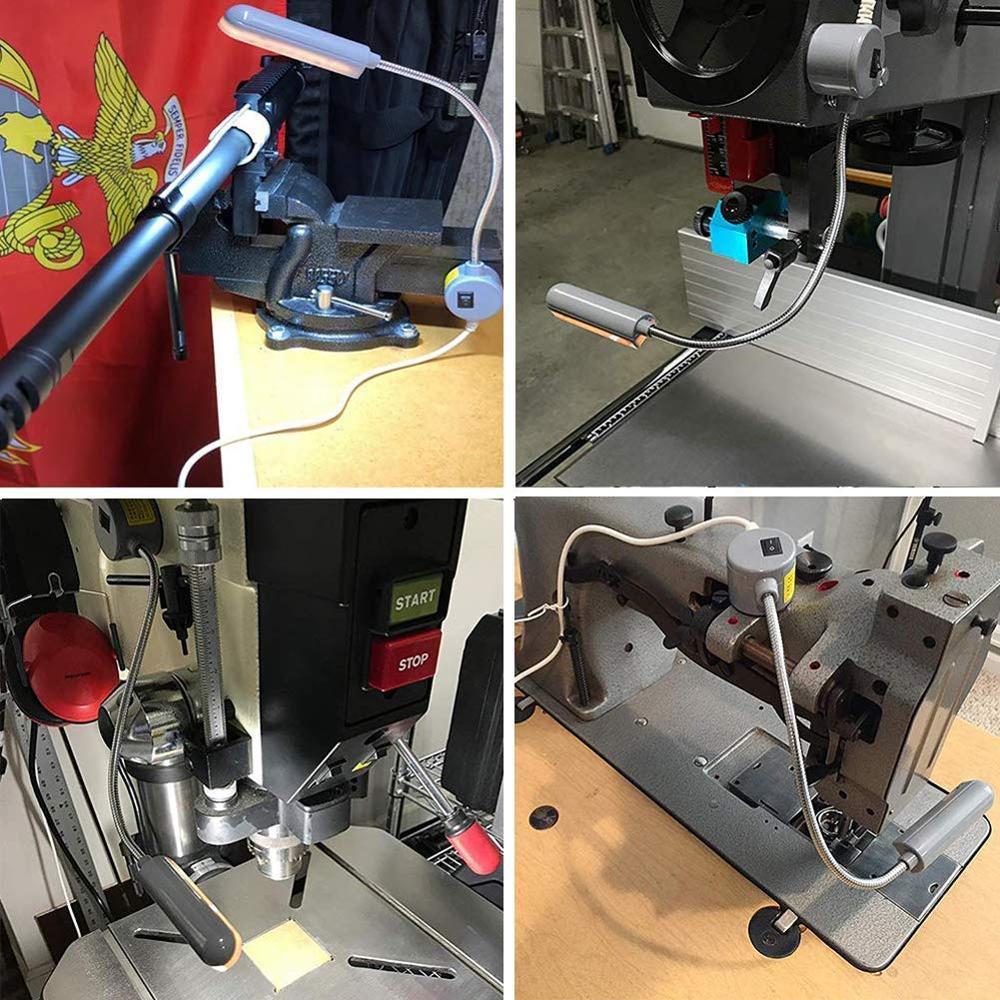 LED машина за шиене 220v 110v маса настолна - Професионално осветление - Снимка 3
