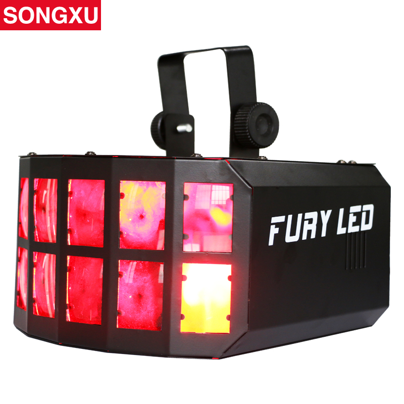 songxu hot sell led disco double butterfly light for dj club party disco led effect light stage. Black Bedroom Furniture Sets. Home Design Ideas