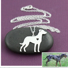 World Of Warcraft Collares Catahoula Necklace Custom Dog Breed Personalized Name Memorial Gift Family dog Charms Fashion Jewelry(China)