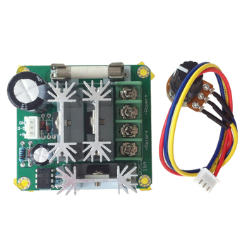 DC6V-90V 15A Pulse Width PWM DC Motor Speed Controller Switch image