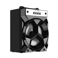 NEW Portable 6.5 Inch HiFi Stereo Loudspeaker With Volume Bluetooth Speaker Super Bass Control Colorful LED Lights AUX #Y8