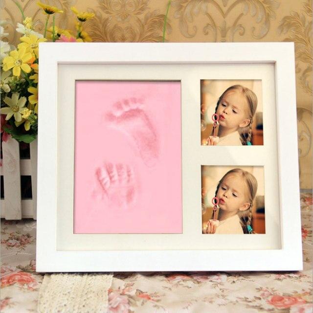 Vintage Baby Kinder Diy Impressum Handabdruck Fussabdruck