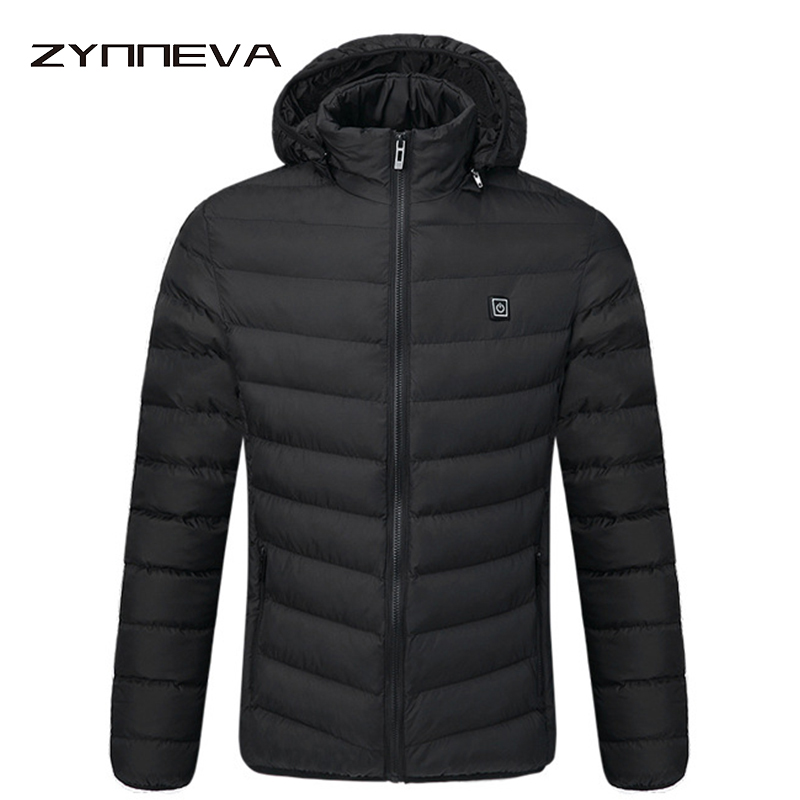 ZYNNEVA Outdoor Electric Heating Jackets Men Women Feather Down Cotton Heated Coats Winter Thermal Warm Hooded Clothing GK6108ZYNNEVA Outdoor Electric Heating Jackets Men Women Feather Down Cotton Heated Coats Winter Thermal Warm Hooded Clothing GK6108