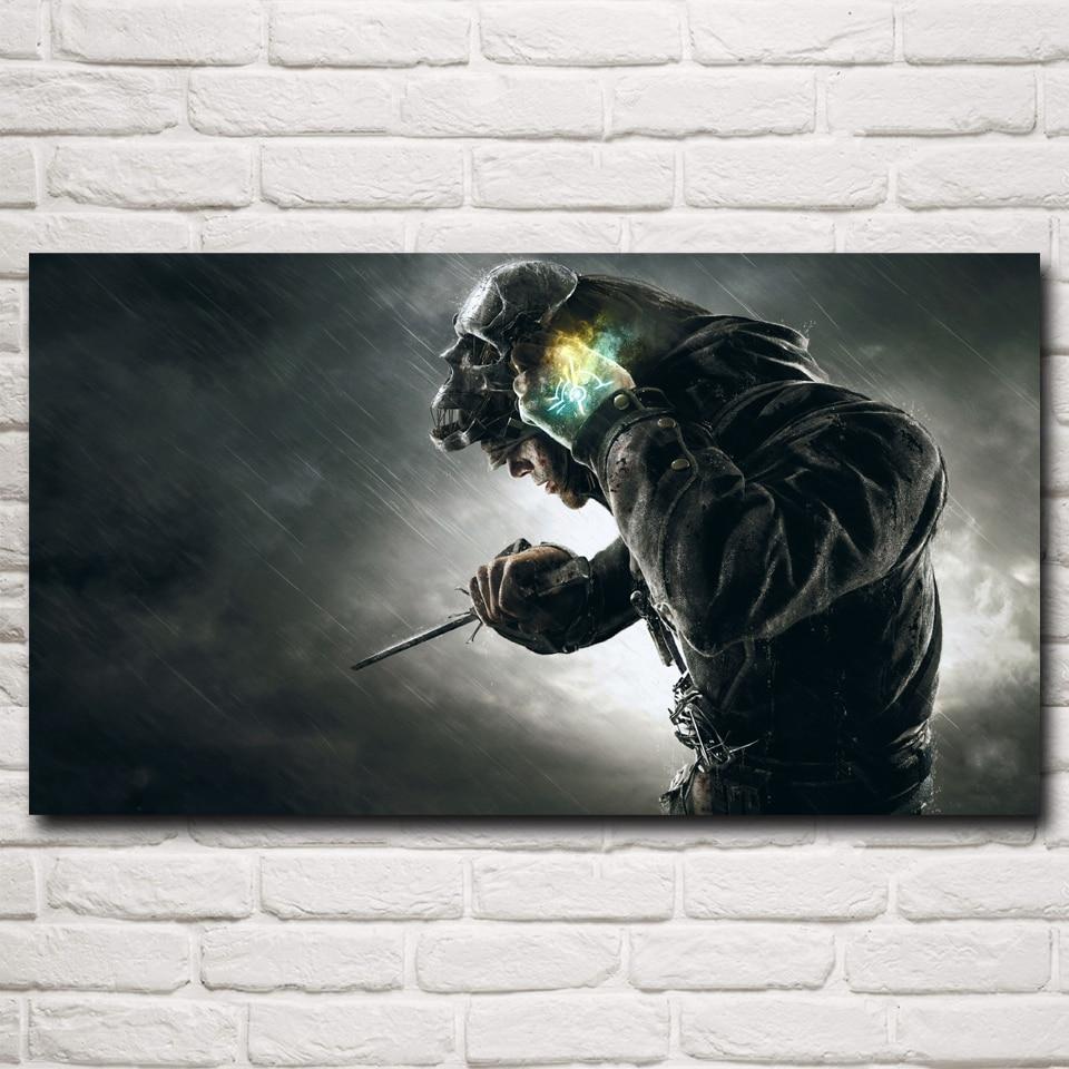 Deshonrado de Vídeo Juego de Seda Del Arte Poster Prints Home Pintura Decoración