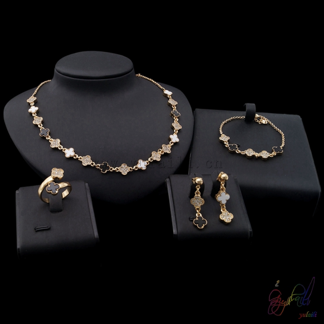 Yulaili Free Shipping High Quality Fashion Star Design Zinc Alloy Ladies Four Pieces Jewelry Sets yulaili free delivery hot sell factory ethiopia design copper alloy four pieces ladies big jewelry sets