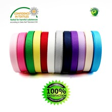 Grosgrain Ribbons 1/4 Inch 6 MM Handmade DIY Headwear Accessories Wedding Decorative Wrap Gift